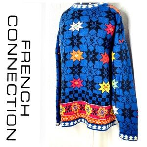VINTAGE French Connection Wool Sweater M
